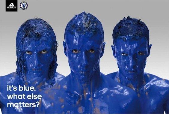 Niebieskie chelsea