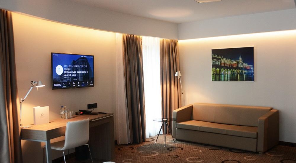System telewizji hotelowej i interaktywnej obsługi gościa Ilumio.